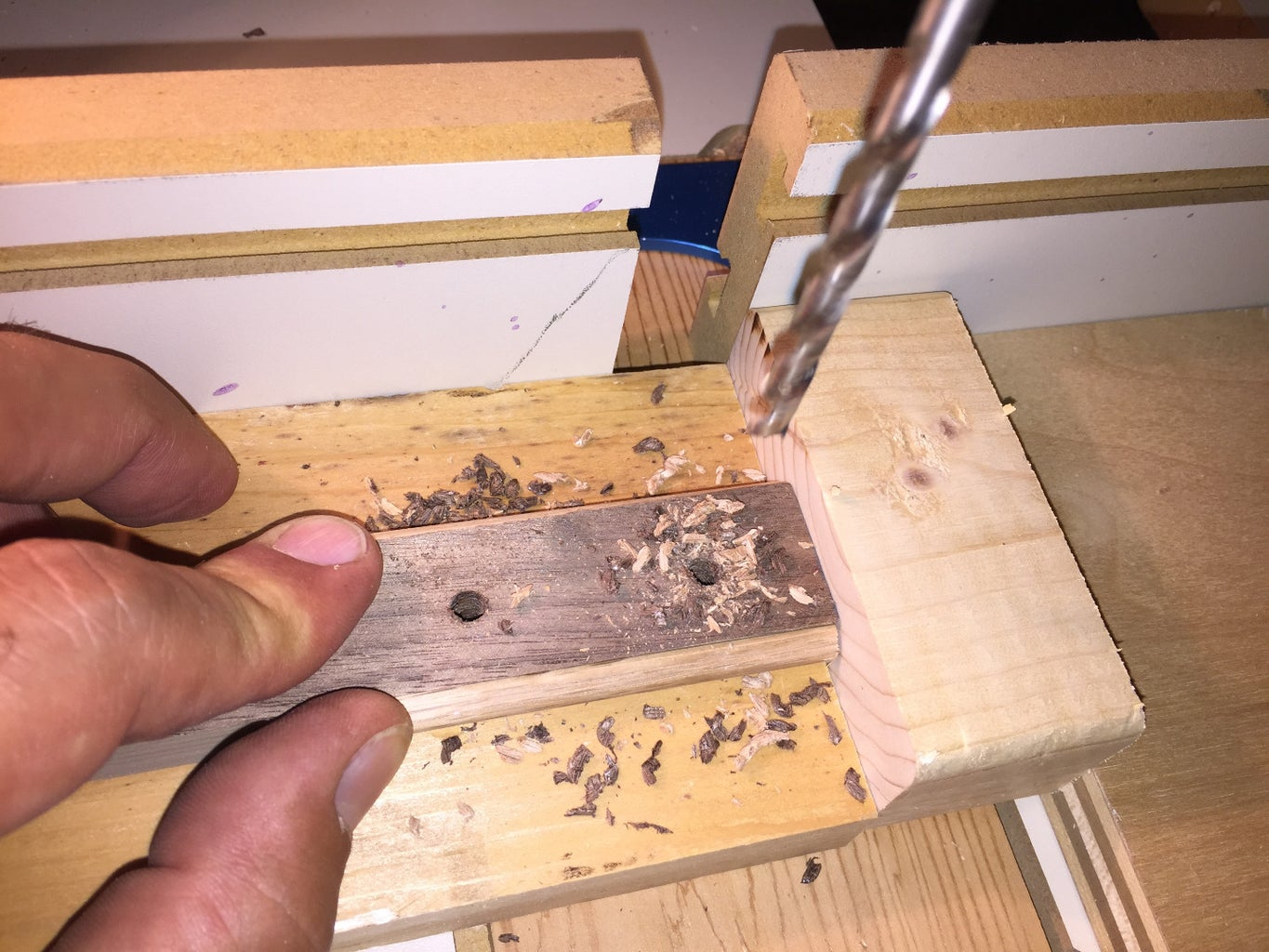 Drilling and Finishing