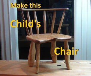 Make a Child's Country Chair