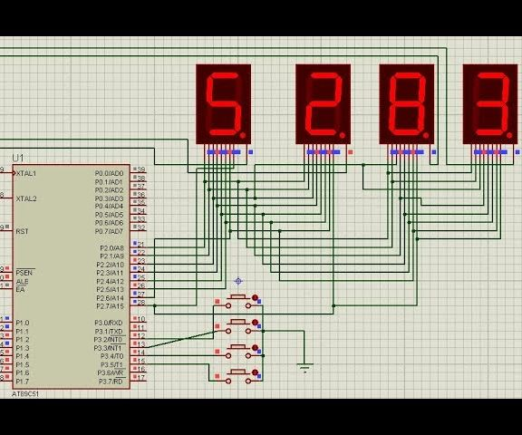 Electronic Voting Machine Using 8051 Microcontroller With 7 Segment Display