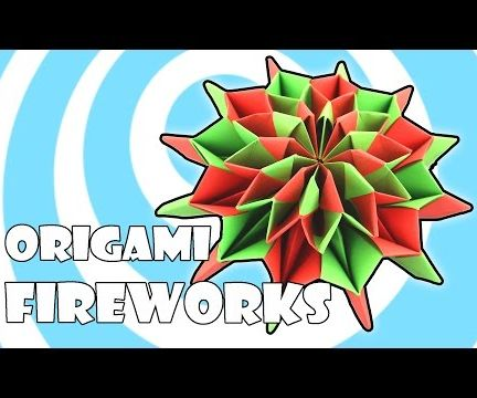 DIY Origami Fireworks