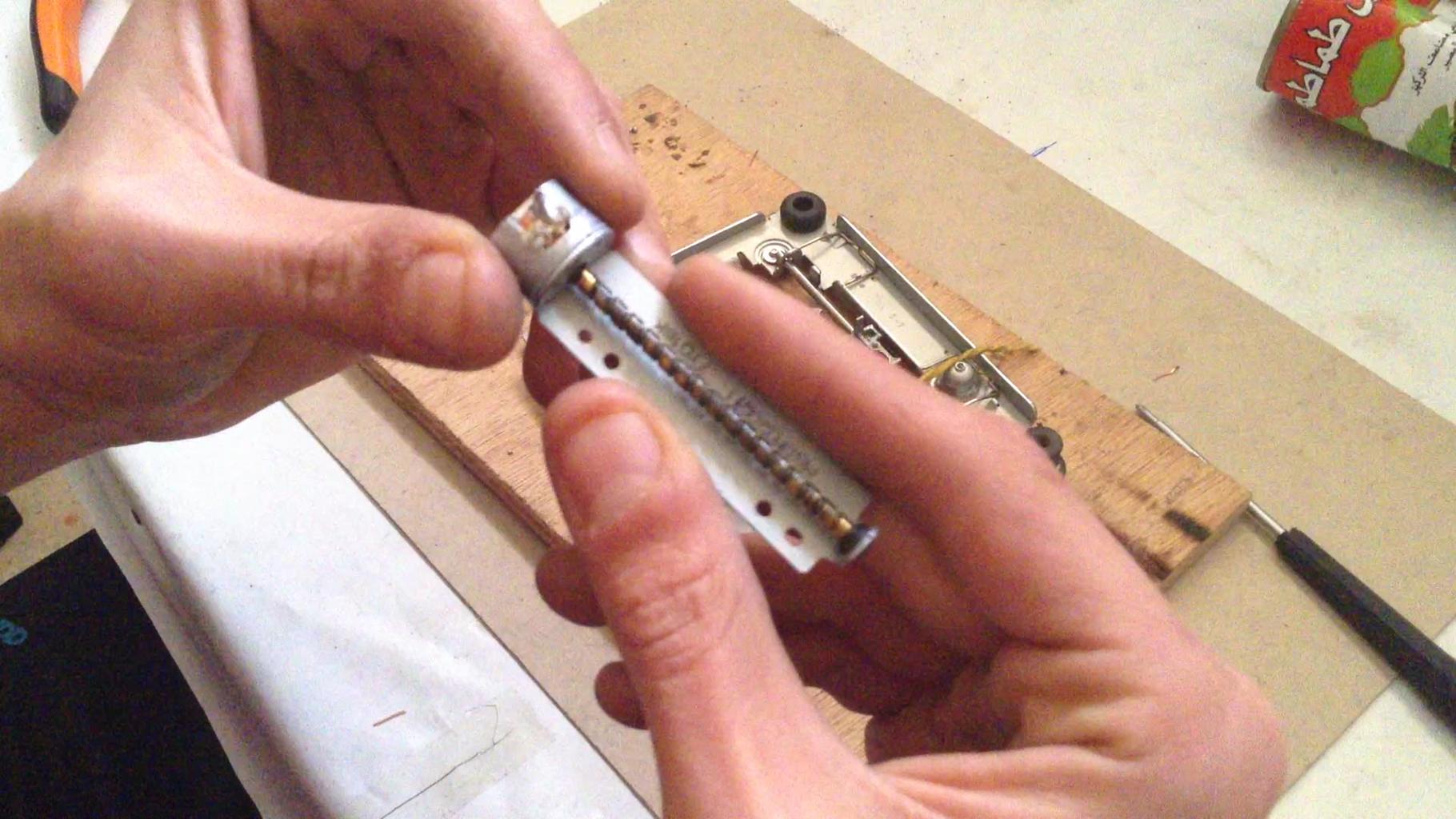 Wiring the Stepper Motors