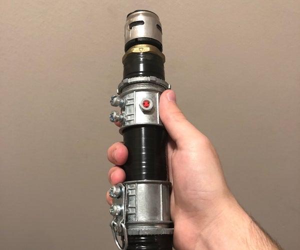 Easy DIY Lightsaber Hilt