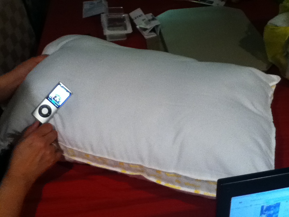 Speaker Pillows