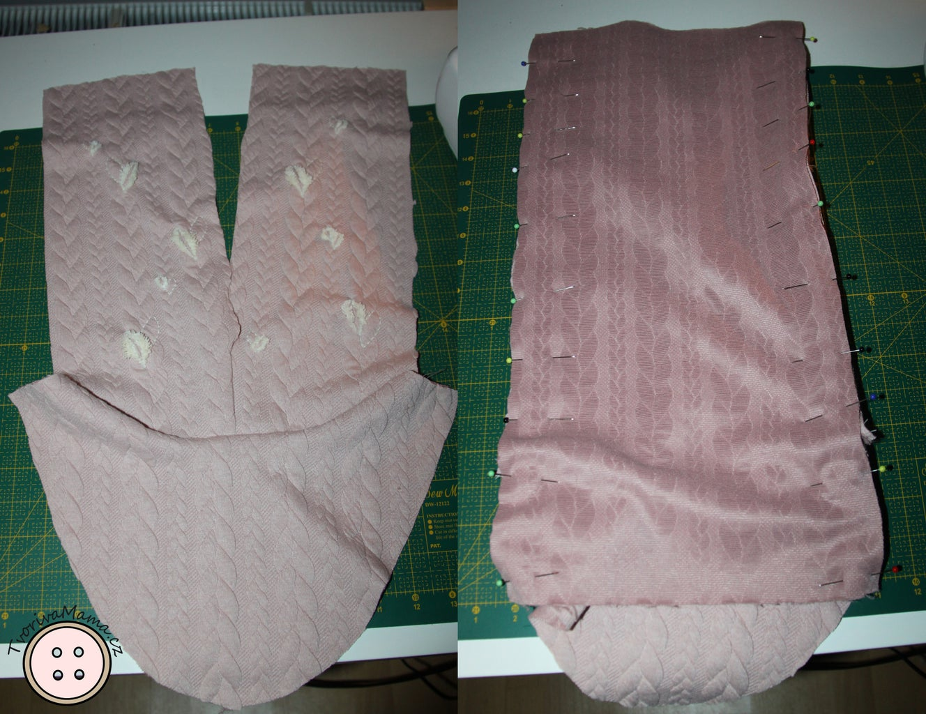 Sewing the Outside Fabric