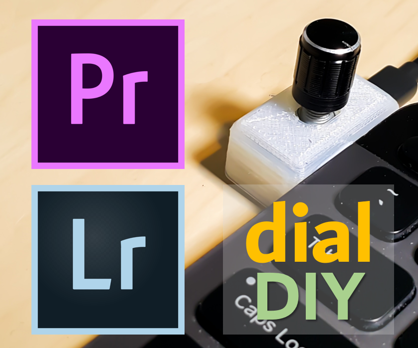 Premiere Pro | Lightroom Control Dial (New Version!!)