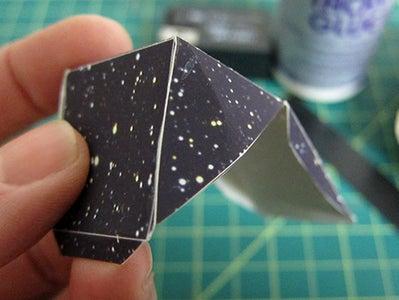Fold & Glue the Shapes