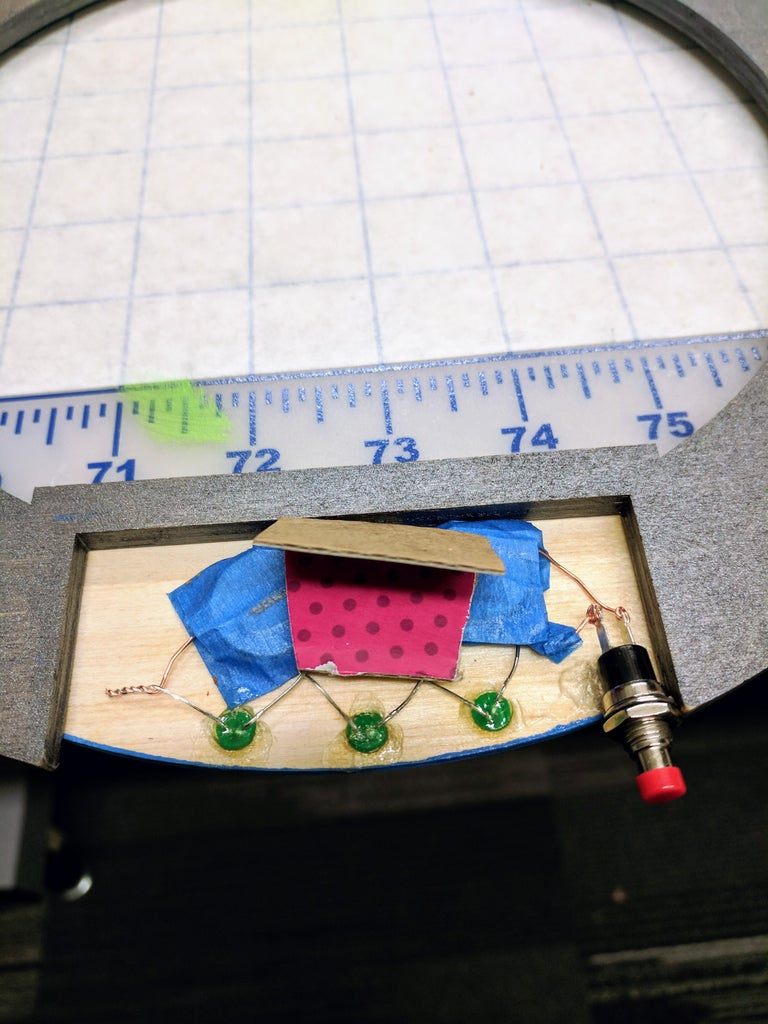 Add the LED Circuit to the Ring Blades