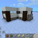 Minecraft Snow Modern House