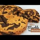 Oreo Cookies Marble Cake - Oreo Biscuit Marble Cake - Easy & Moist Teatime Cake