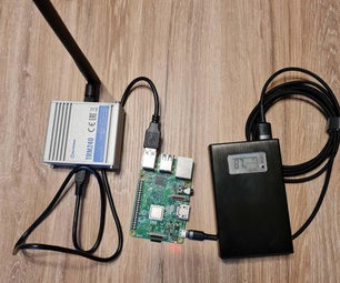Simple Portable Access Point With Mobile Connectivity