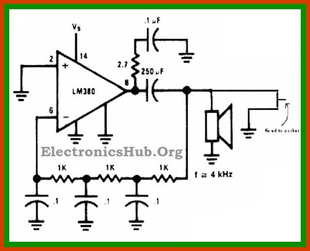 Pull Pin Security Alarm Circuit