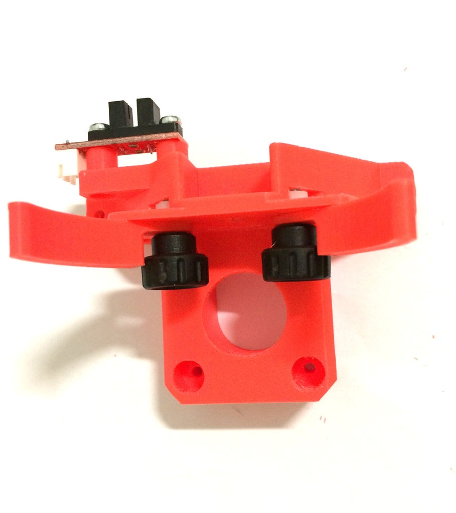Assembling the Motor Support