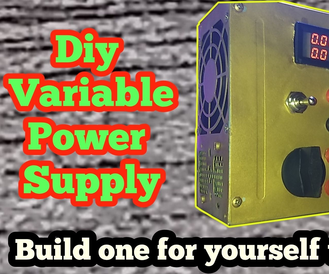 Diy Power Supply Modification Using SMPS