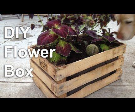 DIY Flower Box Planter Video