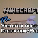 MINECRAFT Arrow in Wall Decoration/Prop (Tut)
