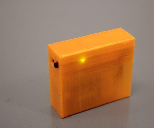 3D Printed USB Phone Charger Enclosure