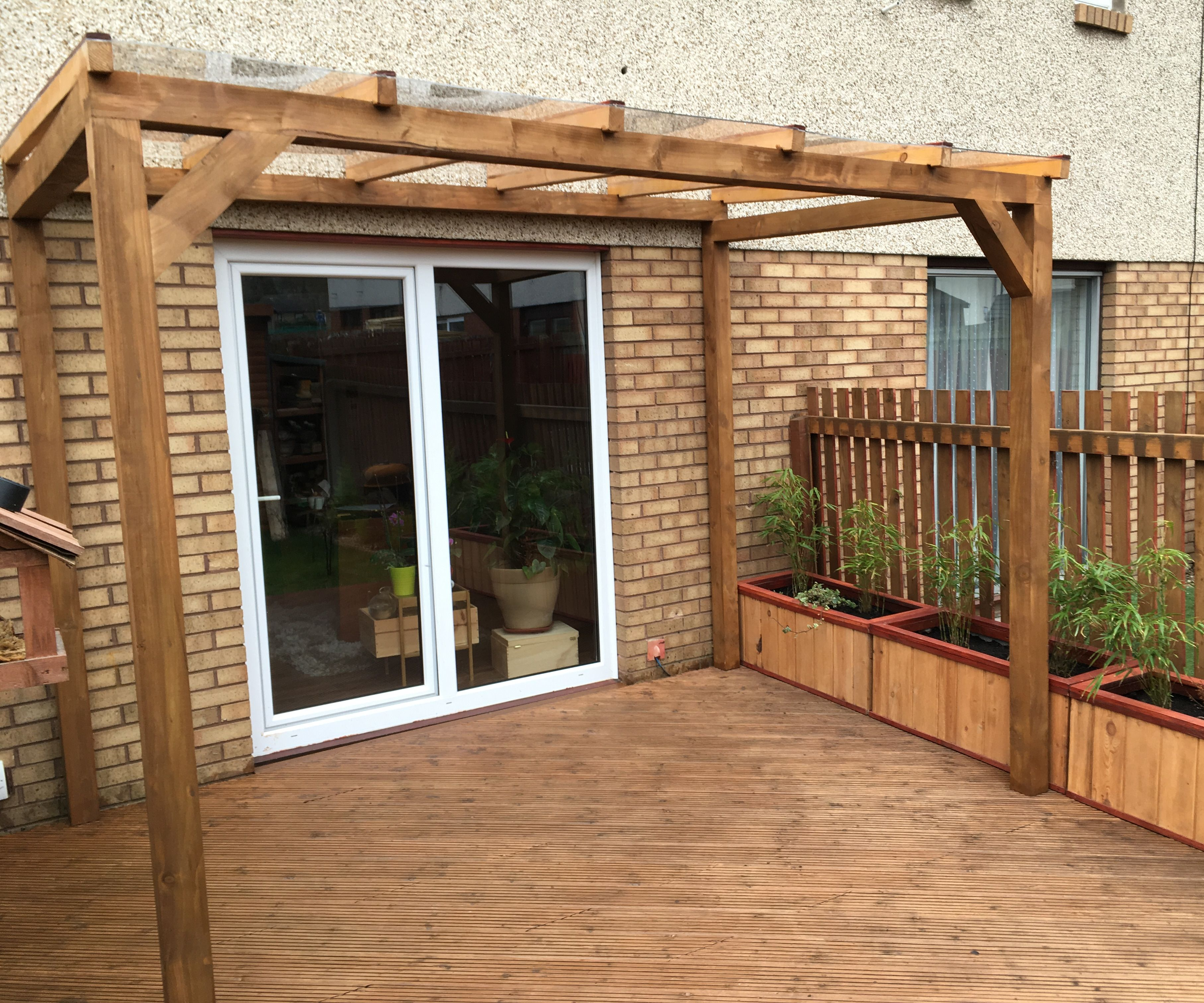 Glass Roof Pergola for Less Than £300!