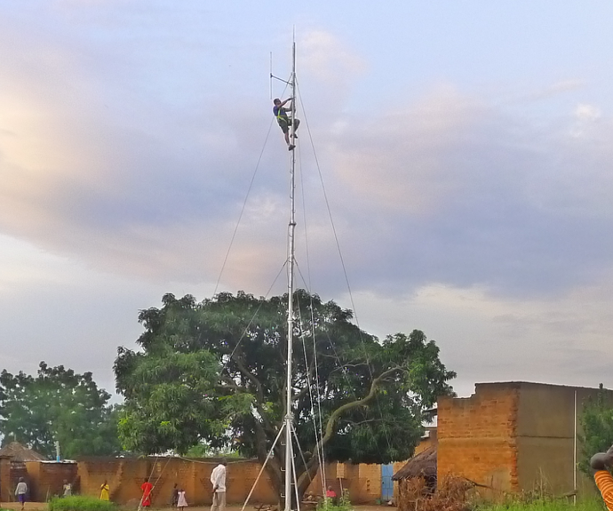 Low Power FM Transmitter Antenna from Agricultural Tubing