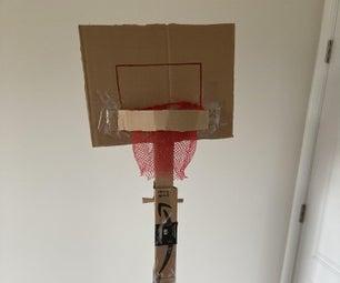 纸板可调篮球箍