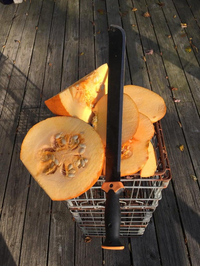 Cut Pumpkins