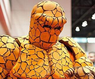 """How to Make a Fantastic Four: """"Thing"""" Costume"""