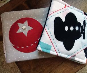 Fabric Baby Book Using Cricut Fabric and Felt