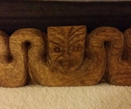 Hand Carved 2x4's