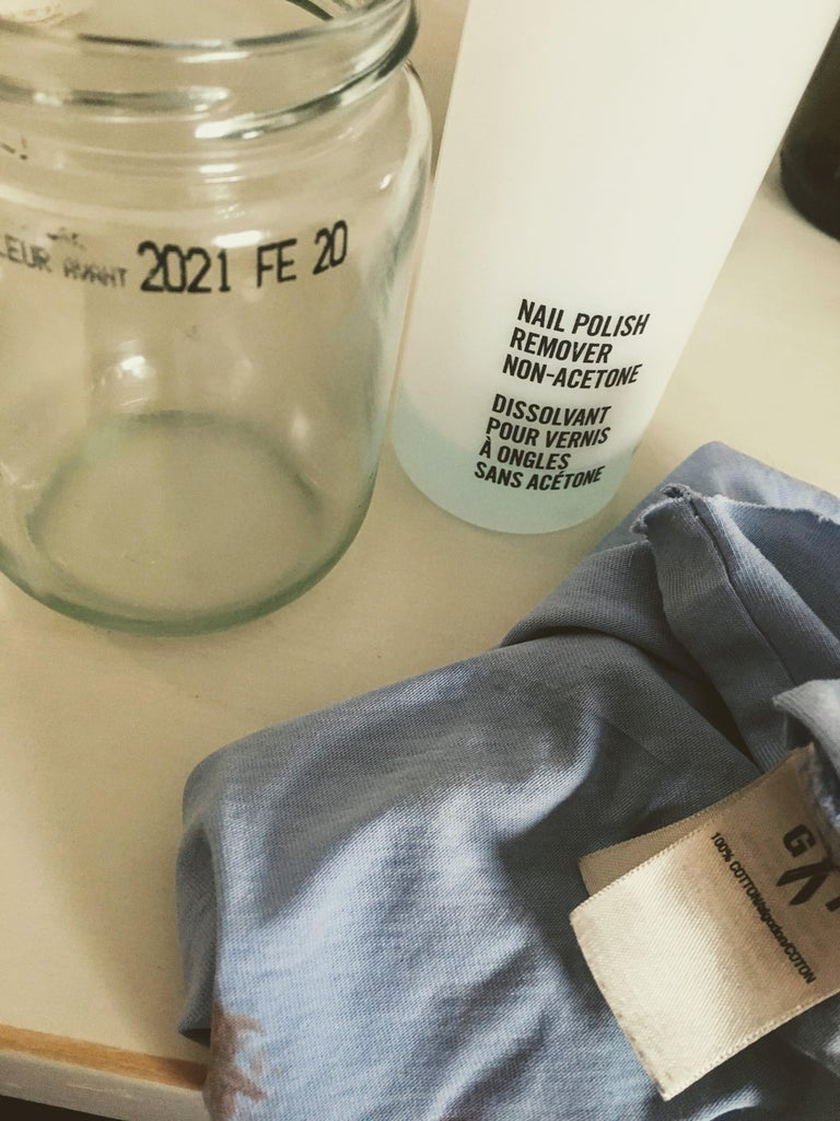 Choose Containers & Remove Labels