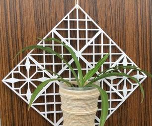 Lattice for Indoor Plant