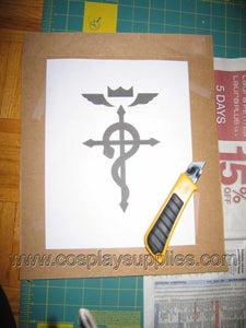 Stencilling, Step One