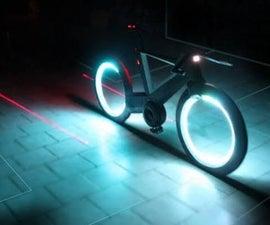 Smart Bike Motion Light and Display Using Blynk