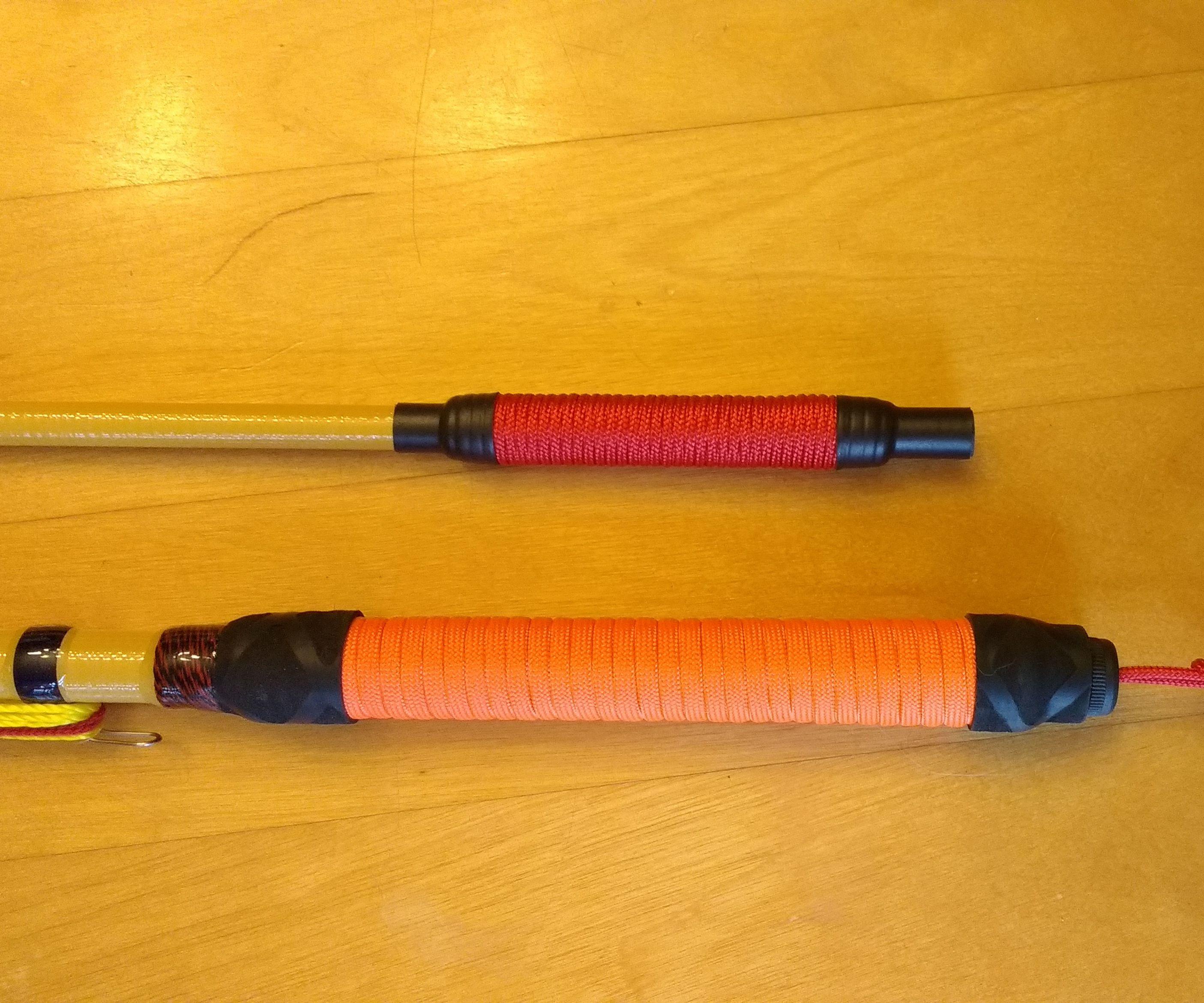 DIY Fishing Rod Paracord Grip