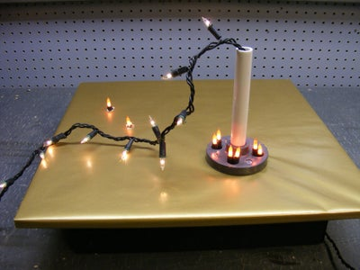 Adding the Lighting to the Cake Base