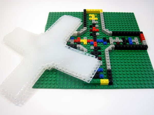 Air-Powered Soft Robots With LEGOs
