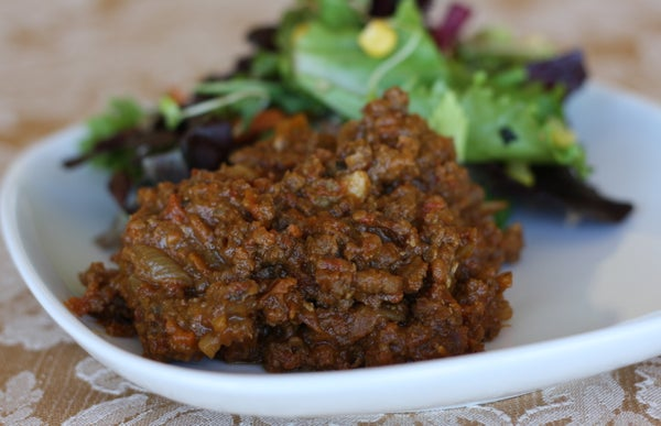 Roasted Tomato Sauce With Venison and Wild Boar Meat