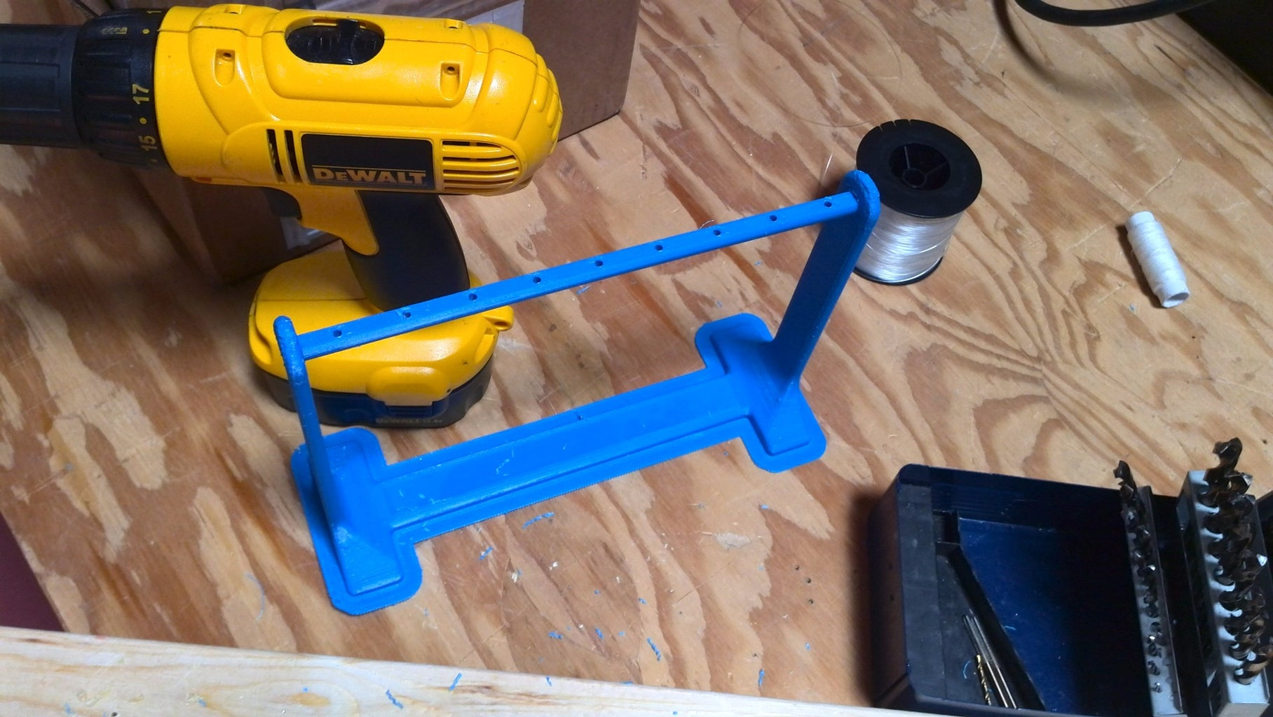 Attach Axle to the Base