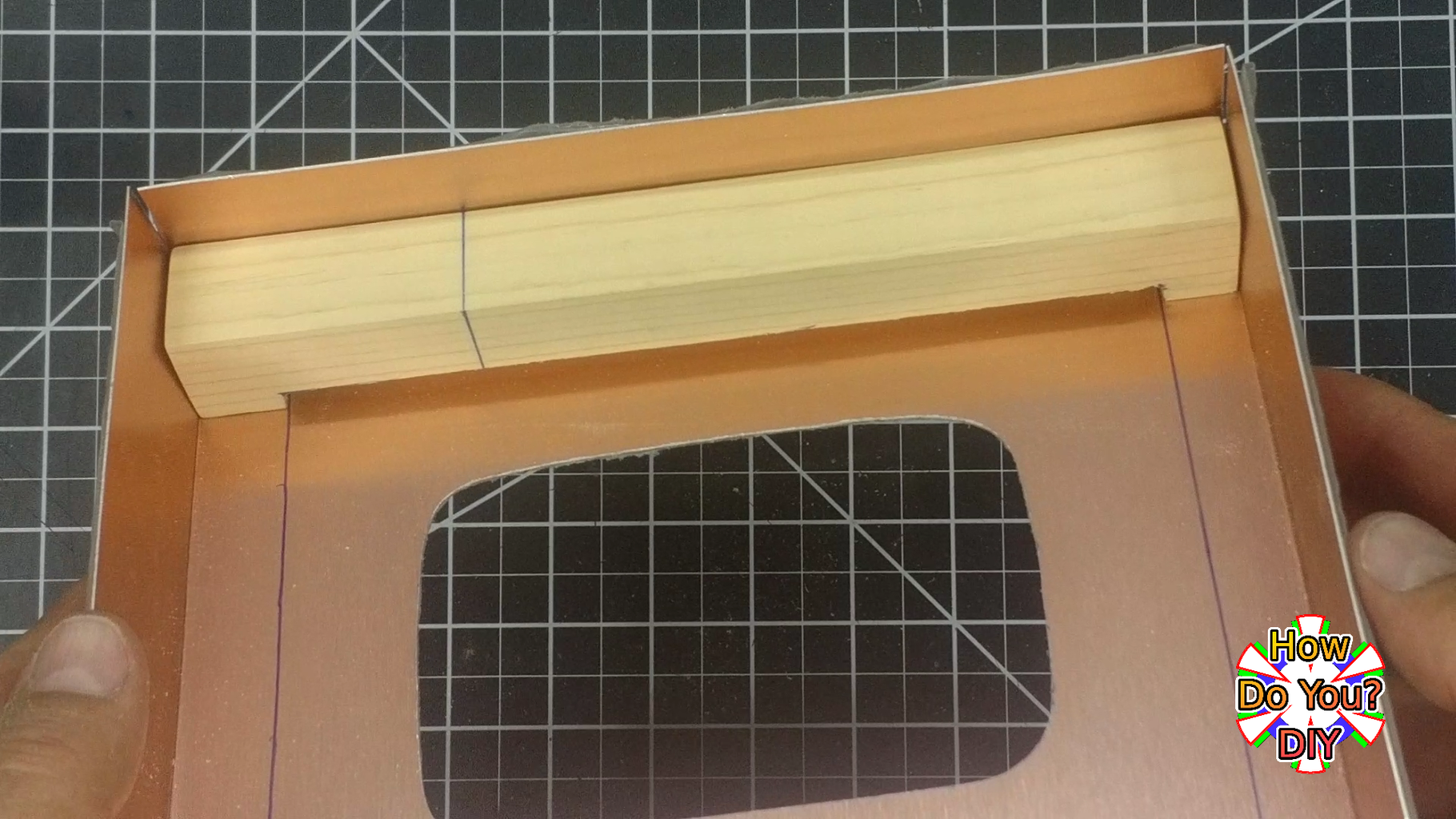 Positioning the Wood Supports