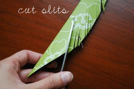Slit Feathers