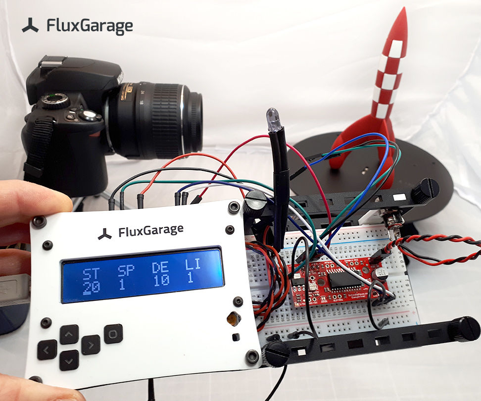 Arduino Controller for Automated 360° Product Photography