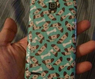 Duct Tape Cell Phone Cover