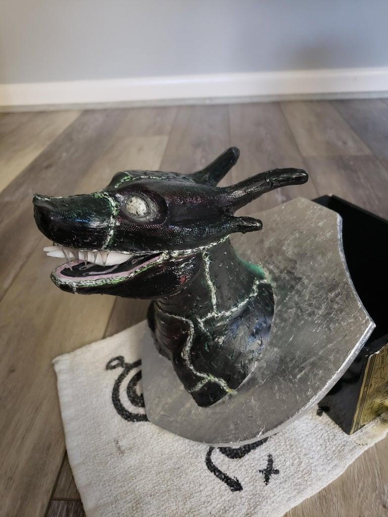 Dragon Head Taxidermy