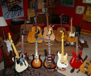 Managing String Changes on Multiple Guitars