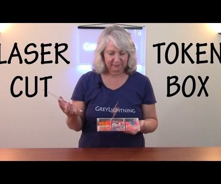 How to Laser Cut a Token Box for Your Custom Game Tokens