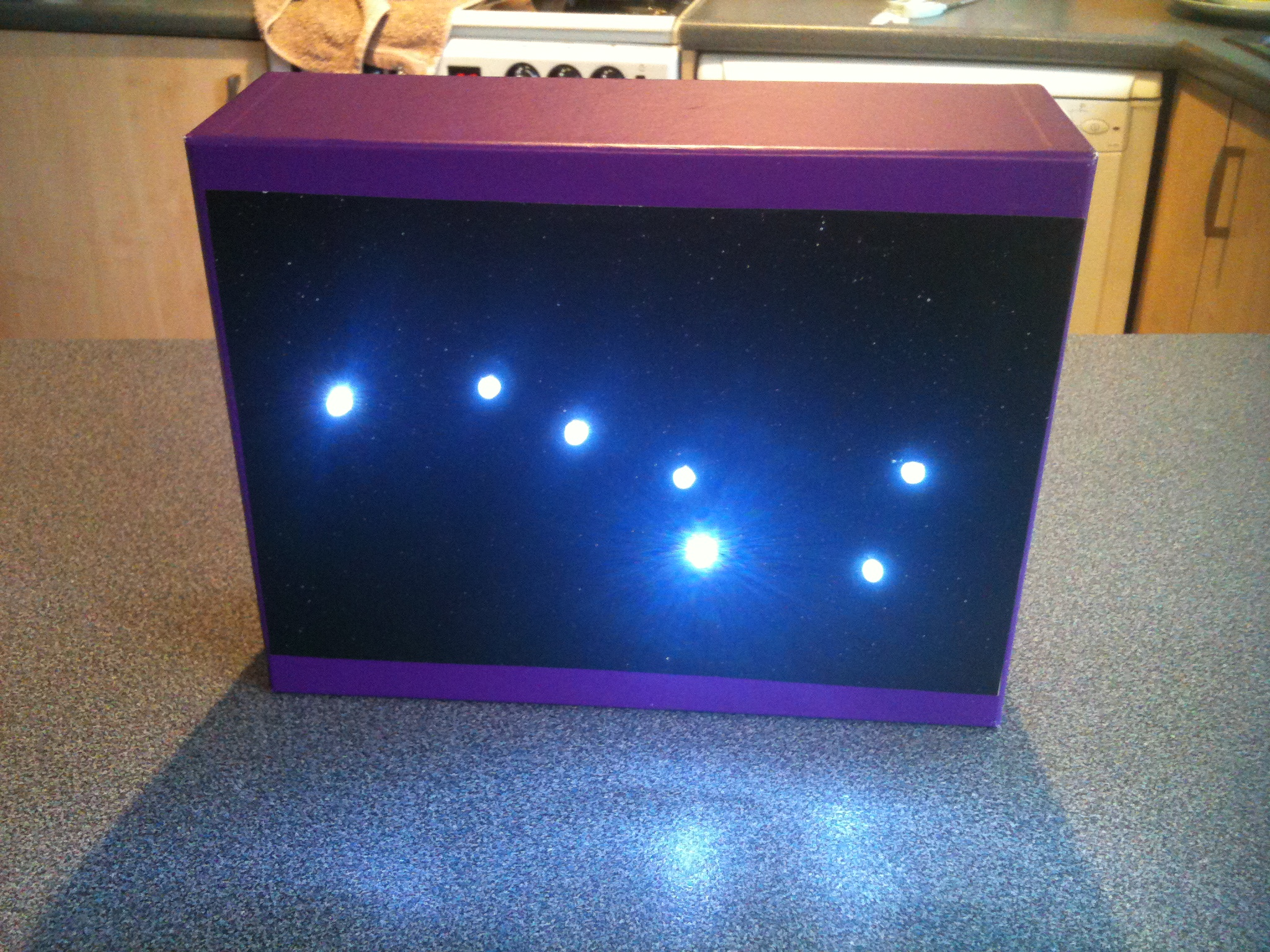 LED Star Constellation Light or night light