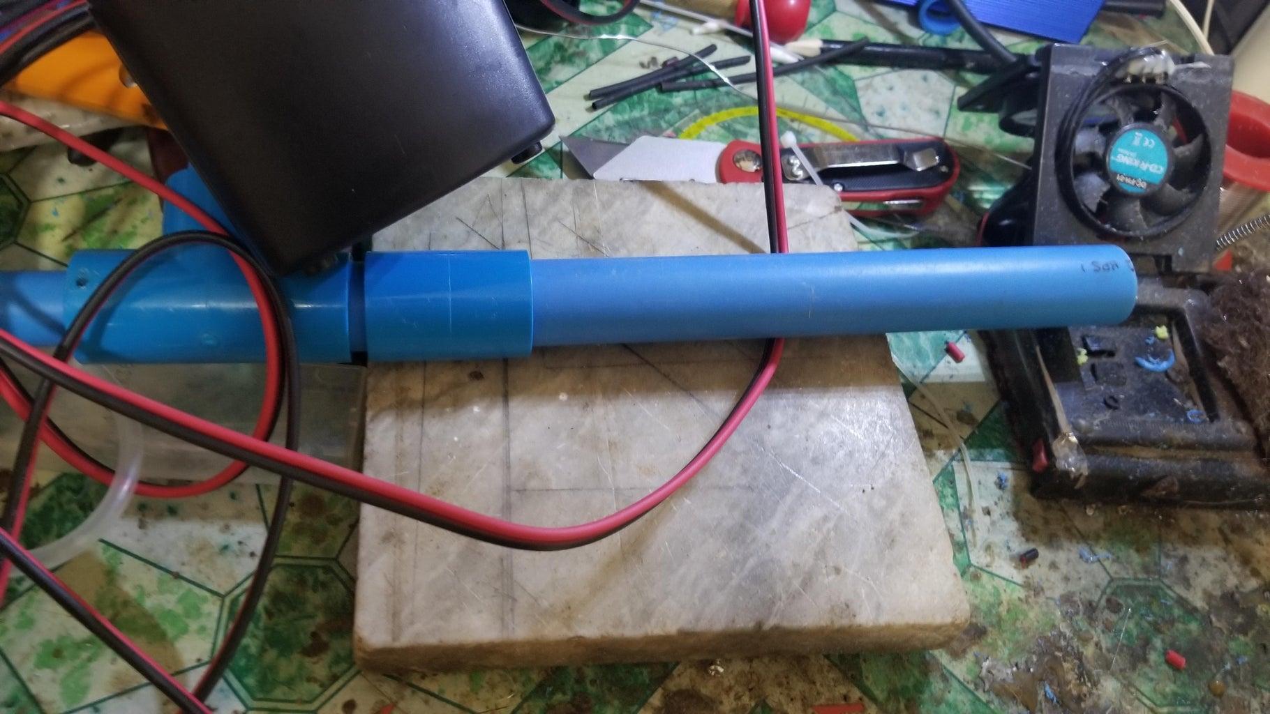 Making Mounting Pipe