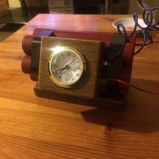 Explosive Alarm Clock