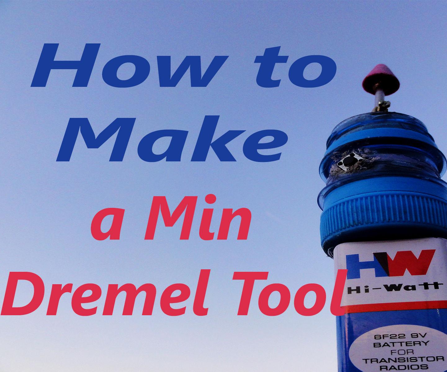 How to Make a Mini Dremel Tool Life Hacks .