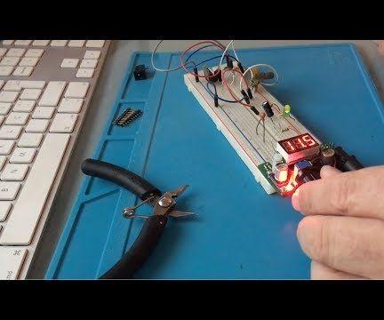 Breadboard Voltage Regulator With Display / Regulador De Voltagem Com Display Para Placa De Ensaio