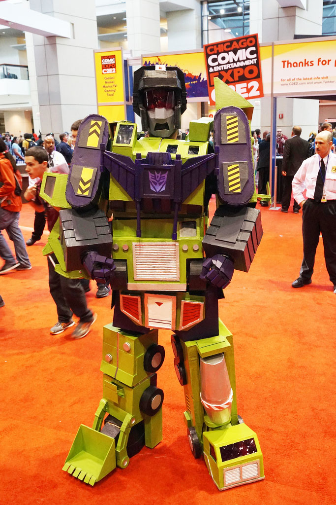 "How to make a Constructicons: ""Devastator"" costume"
