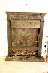 Fireplace and Fake Fire